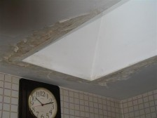 Skylight leaking