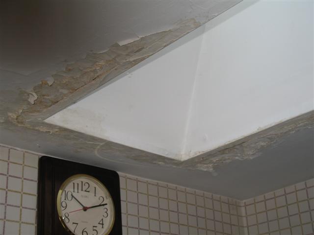 Skylight leaking
