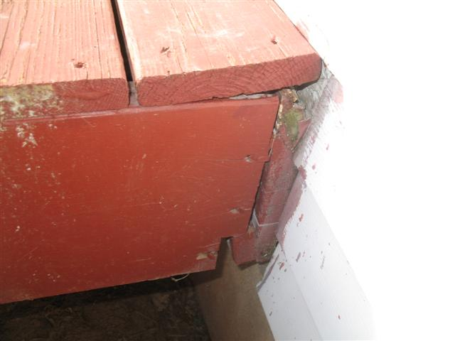 Deck ledger board connection_0423