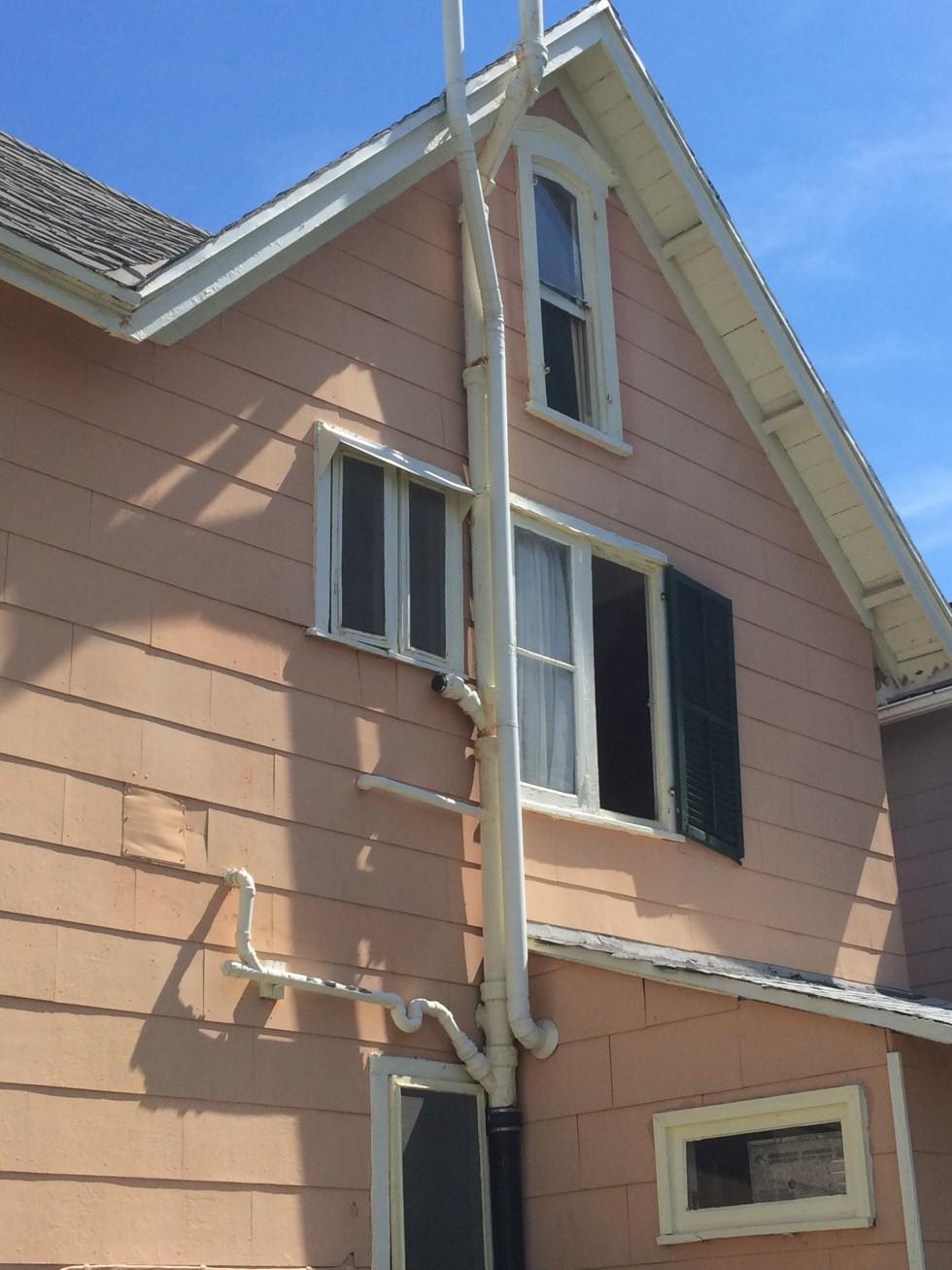 exterior plumbing