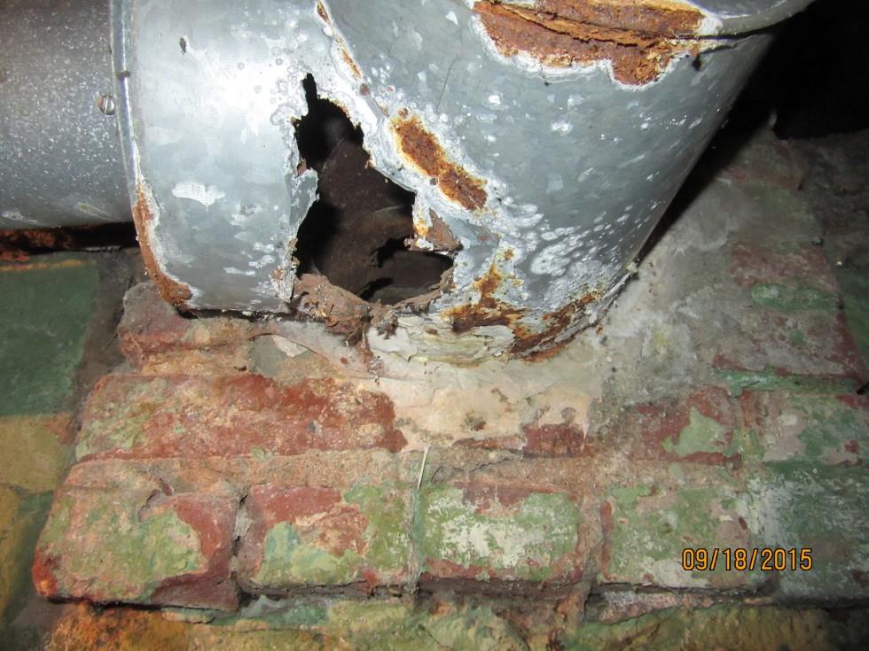 Condensation corrosion