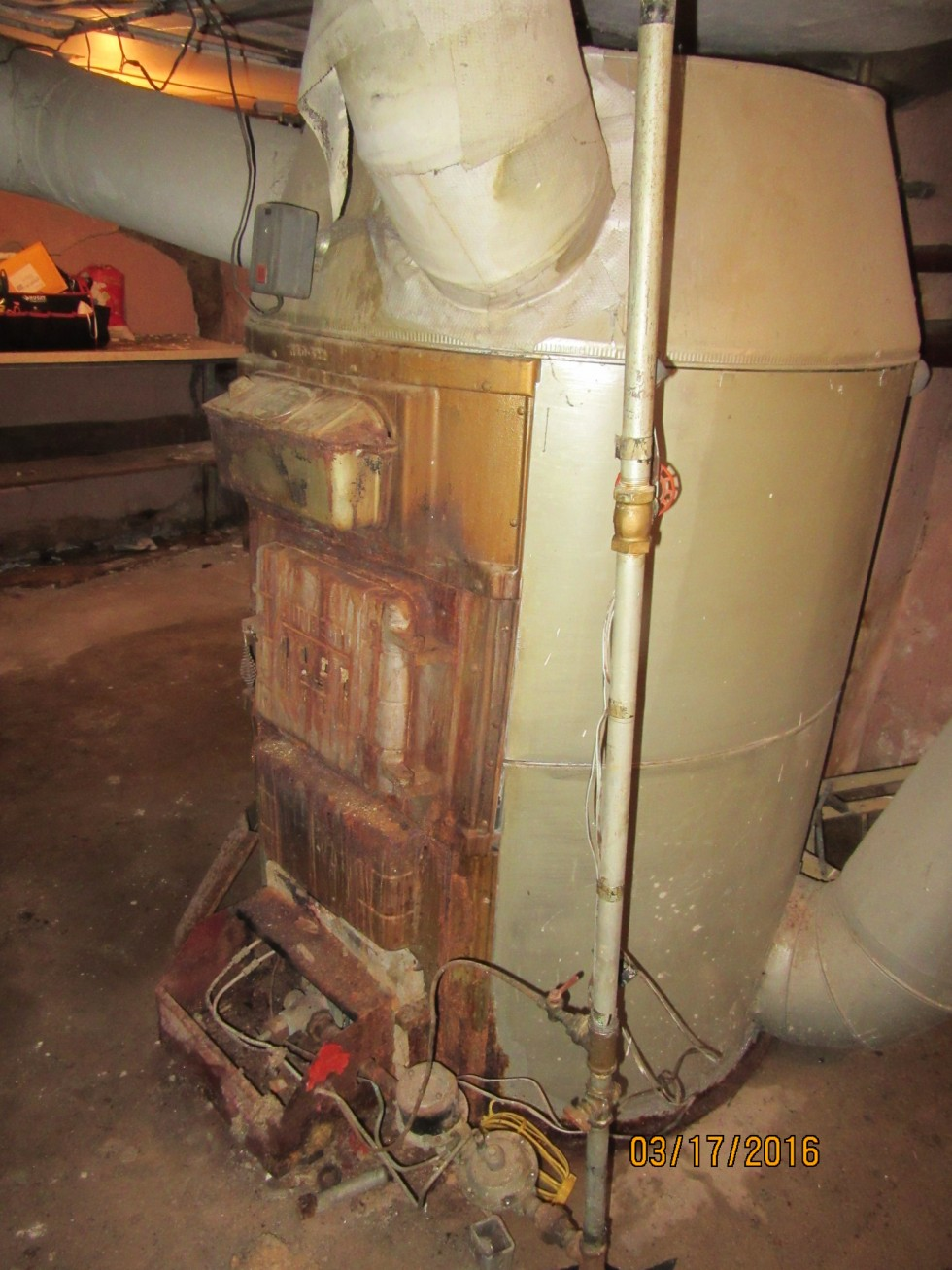 Ace Home Inspection Inc 187 Furnace From Ancient Times