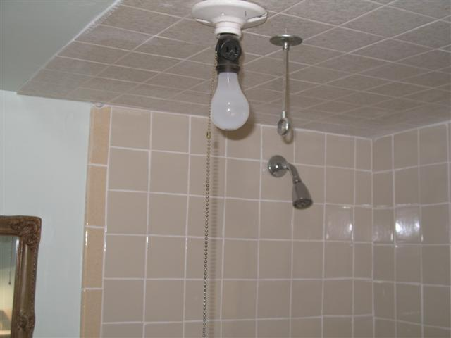 Dont pull the switch when showering
