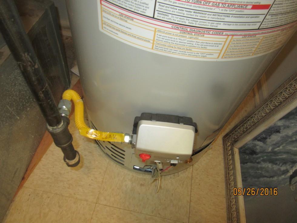 Insufficient radius and leak